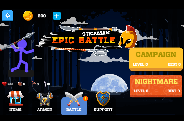 Stickman Epic Battle